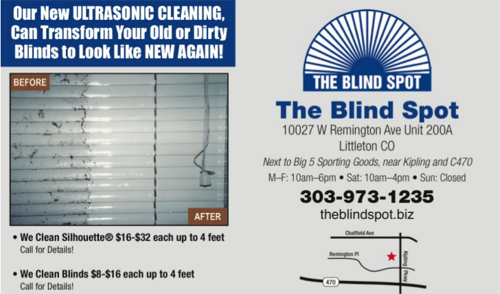 Blind Cleaning Service Custom Window Coverings The Blind Spot In Littleton Co